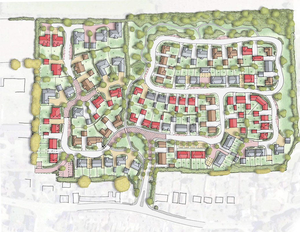 Marlborough Road, Wroughton Masterplan