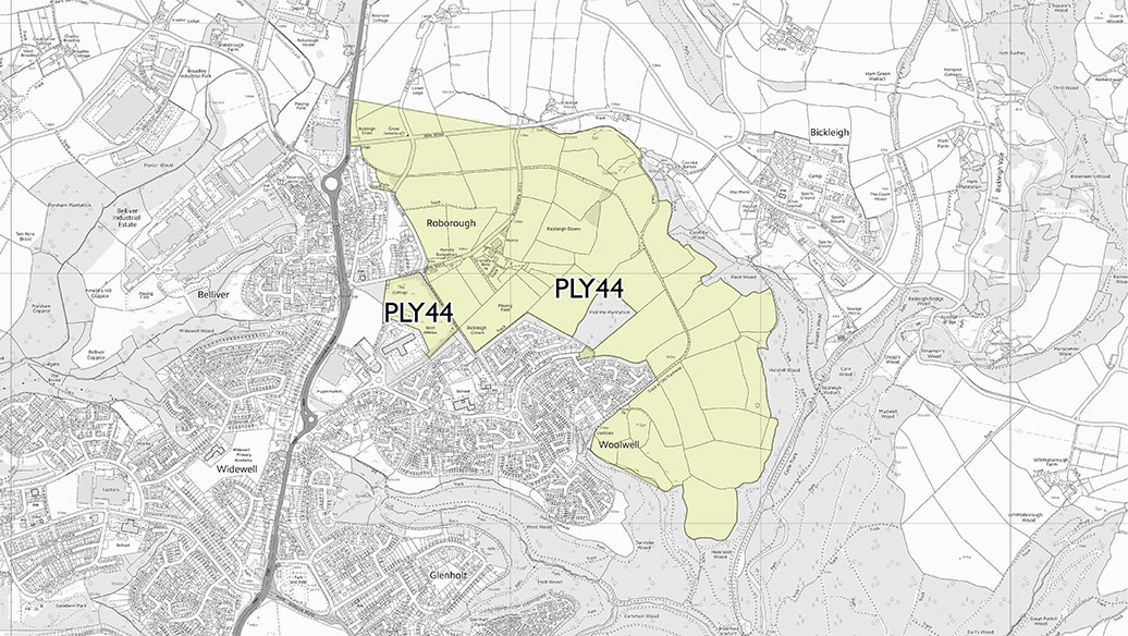 Woolwell, Plymouth Masterplan